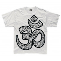 Om Symbol Large Print Kids Children's T-Shirt