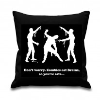 Zombies Eat Brains Scatter Cushion
