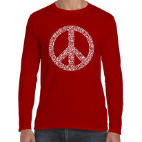 Peace Symbol CND Long Sleeve T-Shirt