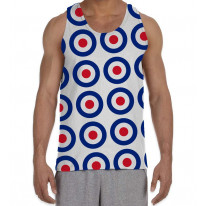 Mod Target Men's All Over Graphic Vest Tank Top