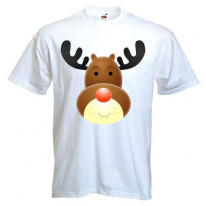 Rudolph The Red Nosed Reindeer Goofy Men's T-Shirt