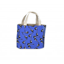 Guitar Pattern Background Tote Shopping Bag For Life