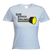 Stone Roses She Bangs The Drum Women's T-Shirt