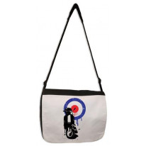 Mod Target Scooter Laptop Messenger Bag