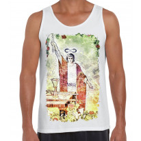 The Magician Tarot Card Large Print Men's Vest Tank Top