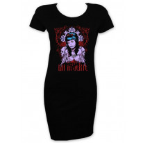 La Muerte Short Sleeve T-Shirt Dress