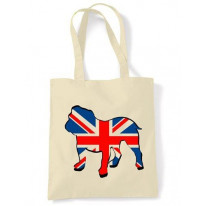 British Bulldog Union Jack Tote \ Shoulder Bag