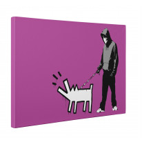 Banksy Choose your Weapon Hoodie with Knife Box Canvas Print Wall Art - Choice of Sizes