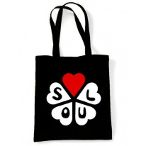 Northern Soul Hearts Shopping Bag