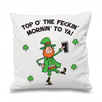 Leprechaun Top Of The Morning Cushion
