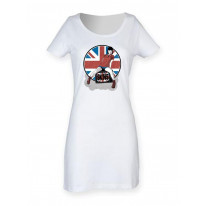 Skinhead Girl Union Jack Women's T-Shirt Dress