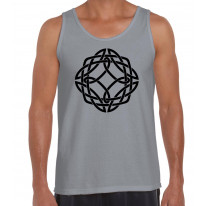 Celtic Knot Black Print Men's Tank Vest Top