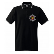 Northern Soul Turnin' My Hearbeat Up Men's Contrast Tipped Polo Shirt