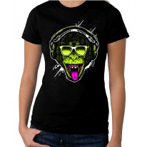 Funky Monkey DJ Women's T-Shirt