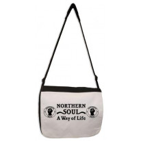 Northern Soul A Way Of Life Laptop Messenger Bag
