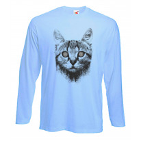 Hypnotized Kitten Cat Long Sleeve T-Shirt