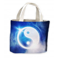 Yin & Yang Tote Shopping Bag For Life