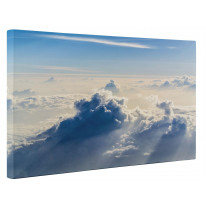 High Altitude Clouds Blue Sky Box Canvas Print Wall Art - Choice of Sizes