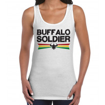 Buffalo Soldier Reggae Women's Tank Vest Top