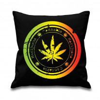 Cannabis Leaf Scatter Cushion