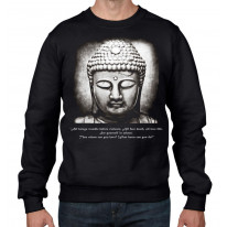 Buddha Vegetarian Quote Men's Sweatshirt Jumper