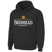 Skinhead Original Logo Northern Soul Men's Pouch Pocket Hoodie Sweatshirt