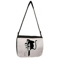 Banksy Detonator Monkey Laptop Messenger Bag