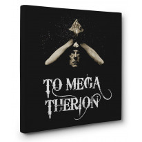 Aleister Crowley Mega Therion Box Canvas Print Wall Art - Choice of Sizes