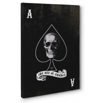 Ace of Spades Box Canvas Print Wall Art - Choice of Sizes