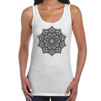 Mandala Tattoo Design Women's Vest Tank Top