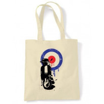 Mod Target Scooter Shoulder Bag