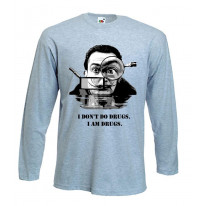Salvador Dali Drugs Quote Long Sleeve T-Shirt