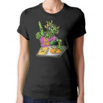 Zombie Dj Women's T-Shirt