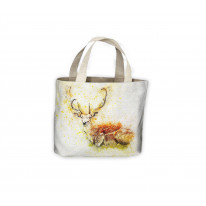 Deer Drawing Tote Shopping Bag For Life