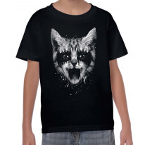 Heavy Metal Pussy Cat Children's T-Shirt