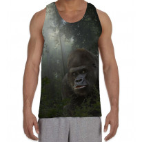 Gorilla in Forest Men's All Over Graphic Vest Tank Top