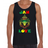 Jah Love Reggae Men's Tank Vest Top