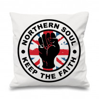 Northern Soul Keep The Faith Union Jack Cushion