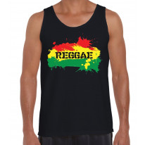 Reggae Splash Men's Tank Vest Top