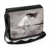 Albert Penot Depart Pour Le Sabbat Laptop Messenger Bag