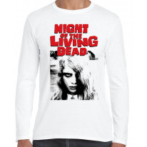Night Of The Living Dead Zombie Long Sleeve T-Shirt