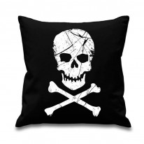 Skull and Crossbones Pirate Cushion