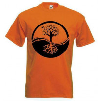 Yin & Yang Tree Of Life T-Shirt