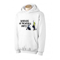 Banksy Workers Of The World Unite Hoodie