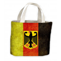 German Eagle Flag Tote Shopping Bag For Life