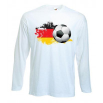 German Football Long Sleeve T-Shirt