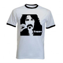 Frank Zappa Contrast Ringer T-Shirt