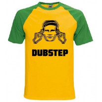 Dubstep Hearing Protection Baseball T-Shirt