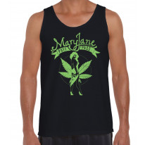 Mary Jane Cannabis Men's Tank Vest Top