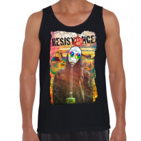 Resistance Anarchy Symbol Men's Tank Vest Top